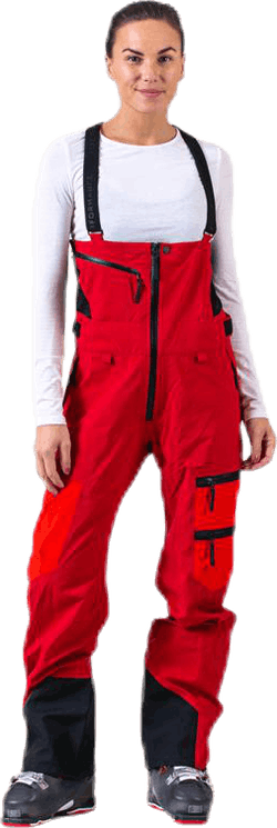 Vertical Pant Red