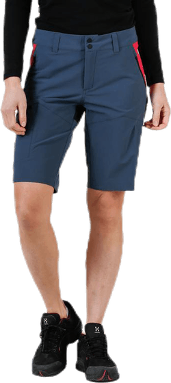 Light Softshell Carbon Shorts Blue