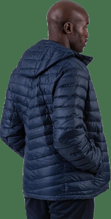 Frost Down Hood Jacket Blue