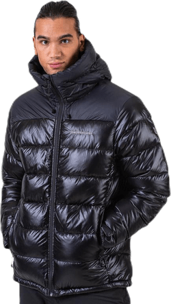 Frost Glacier Down Hood Jacket Black