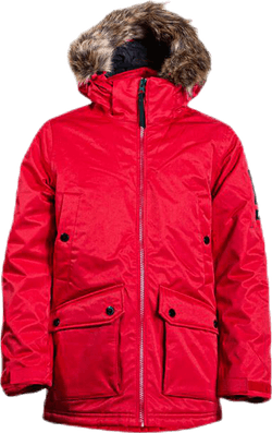 Jr Local Parka Red