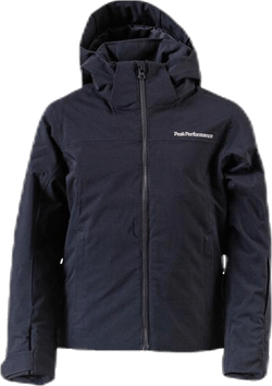 Jr Lanzo Ski Jacket Black