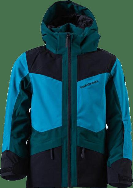 Jr Gravity Ski Jacket Blue/Turquoise