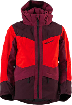 Jr Gravity Ski Jacket Red