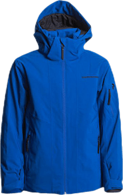 Jr Maroon Ski Jacket Blue