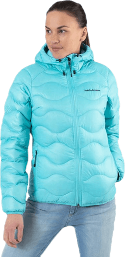 Helium Hood Jacket Blue