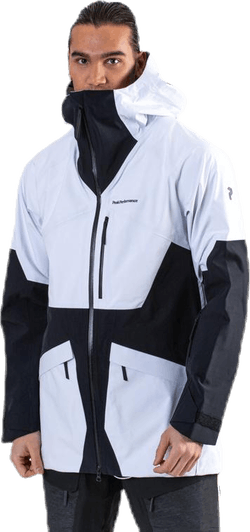 Volcan 3-Layer Jacket White