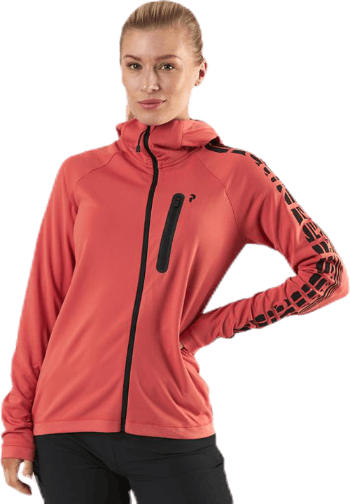 Power Zip Hood Pink