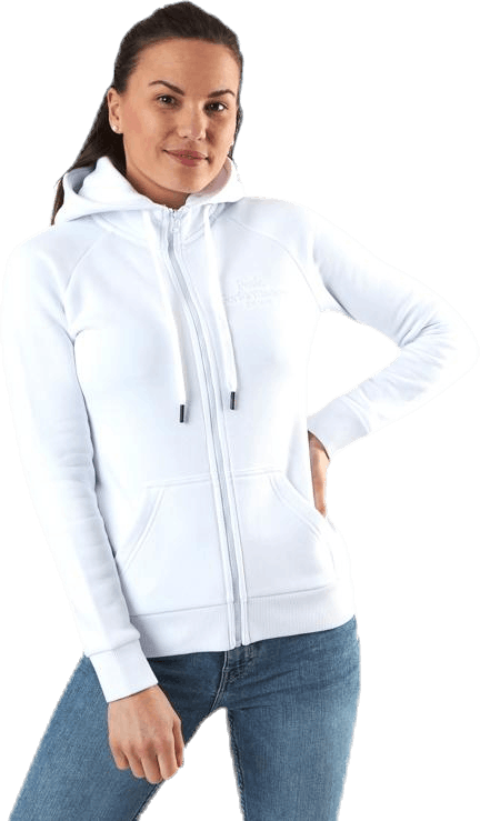 Original Zip Hood White