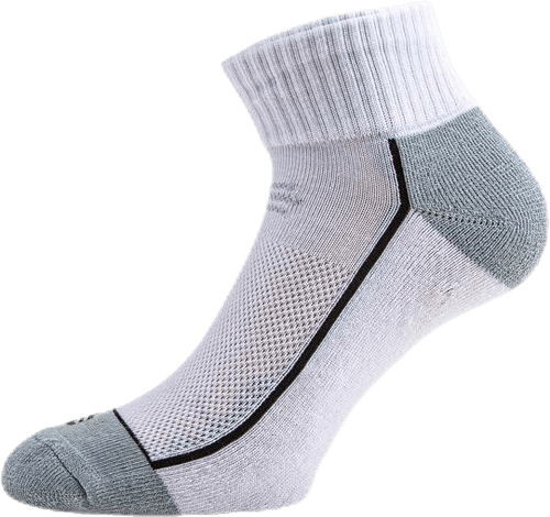 Avery Quarter Socks 3-pack White