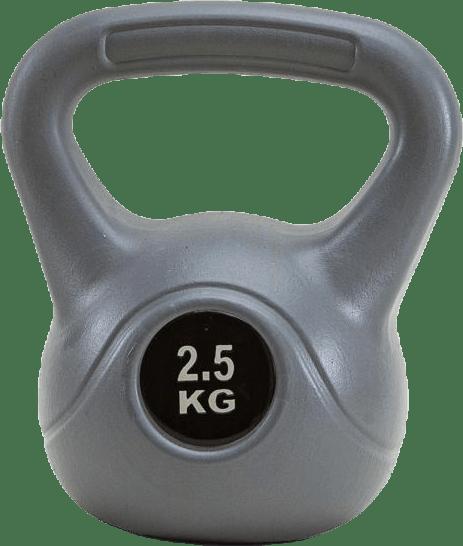 Kettlebells 2,5 KG Grey