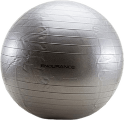 Gym ball 75 CM Silver