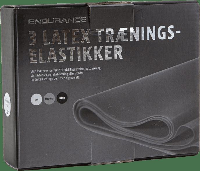 Latex strap 3 pcs set Grey