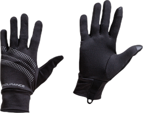 Sherman Run Gloves Black