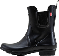 Suburbs Rubber Boot Black