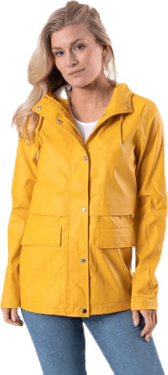 Train Short Raincoat Otw Yellow