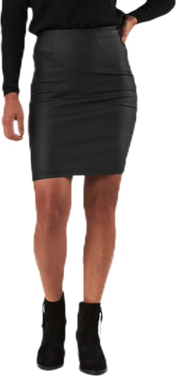 Paro Hw Coated Skirt Black