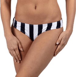 Bea Bikini Brief White/Black