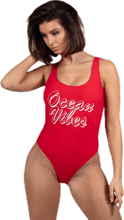 Benice Swimsuit Red