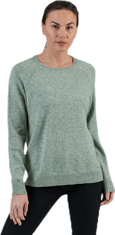 Lesly Kings L/S Pullover Knt Green