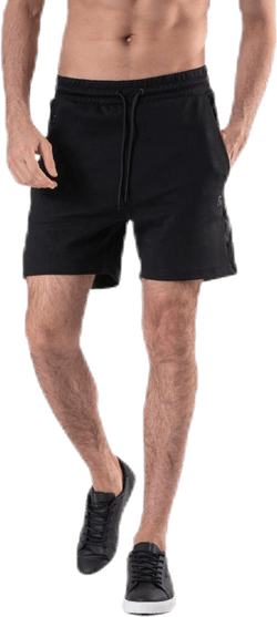 Clean Sweat Shorts  Black