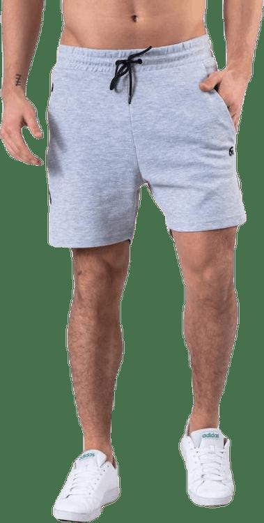 Clean Sweat Shorts  Grey