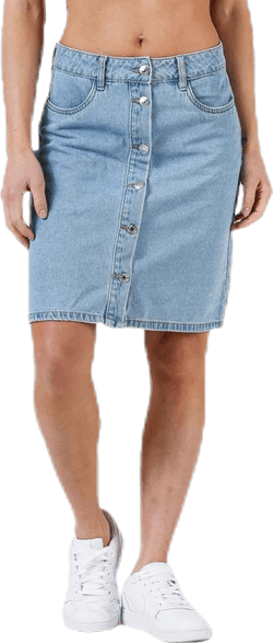 Farrah Reg Dnm Skirt Blue