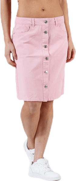 Farrah Color Dnm Skirt Pink