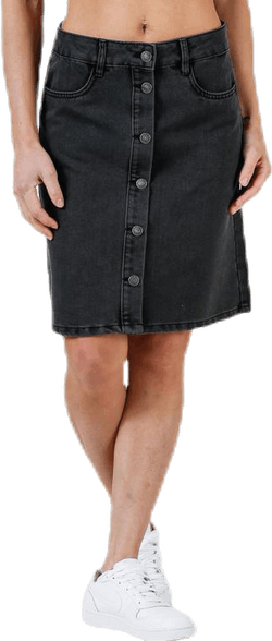 Farrah Reg Dnm Skirt Black