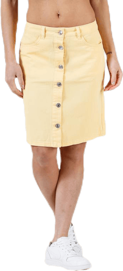 Farrah Color Dnm Skirt Yellow