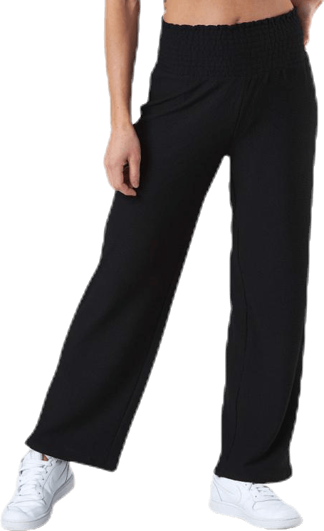 Curli Hw Cropped Pants Black