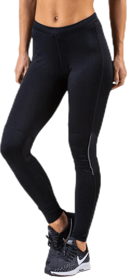 Mahana Long Run Tights XQL Black