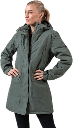 Bakma Long Parka Jacket W-PRO 10000 Green