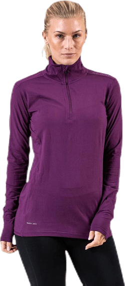 Timika Performance Midlayer Purple