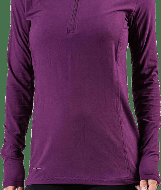 Timika Performance Midlayer Purple