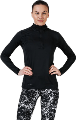Timika Performance Midlayer Black