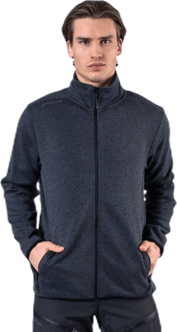 Pareman Melange Fleece Jacket Grey