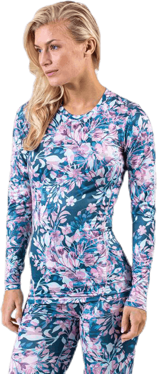 Forget-Me-Not Printed L/S Tee Patterned