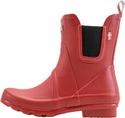 Suburbs Rubber Boot Red