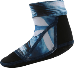 Zabi Beach Socks Blue