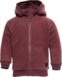 Ummi Fleece Zip Hoodie Red