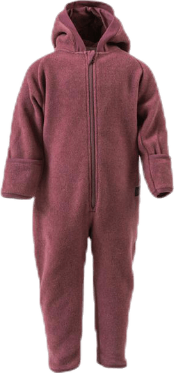Umeko Fleece Overall Red