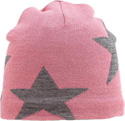 Colder Star Beanie Pink/Grey