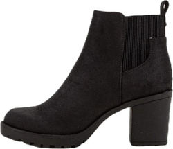 Barbara Heeled Bootie Black