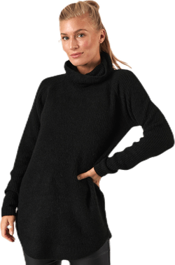 Ellen Ls Long  Knit Black