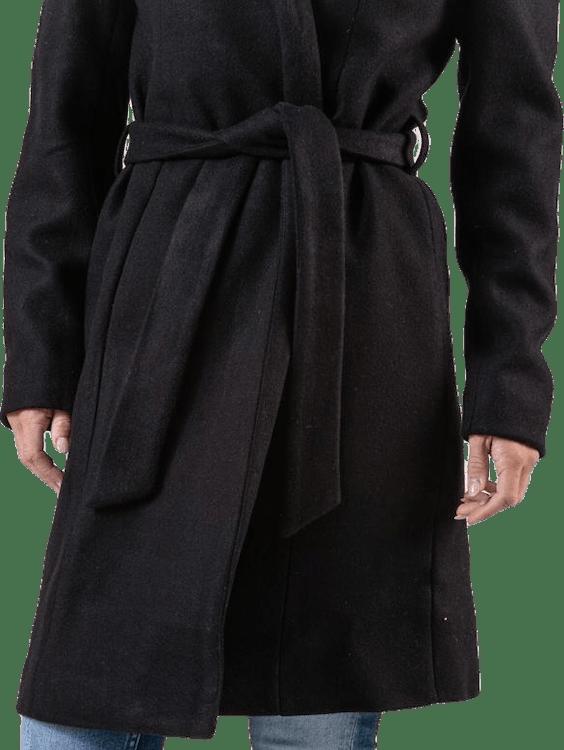 Regina Wool Coat Black