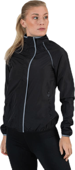 Performance Run Jacket Black