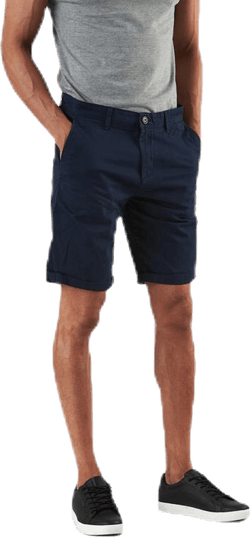 Bowie Shorts Solid Blue