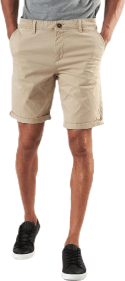 Bowie Shorts Solid Beige