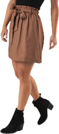 Ykke Hw Skirt Brown